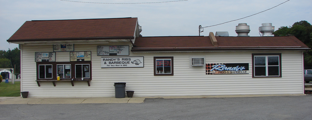 Visit Randy's Rib Shack off Rt. 5 at Gallant Green Road in Hughesville!